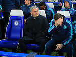 Chelsea's Jose Mourinho looks on<br /> <br /> UEFA Champions League - Chelsea v FC Porto - Stamford Bridge - England - 9th December 2015 - Picture David Klein/Sportimage