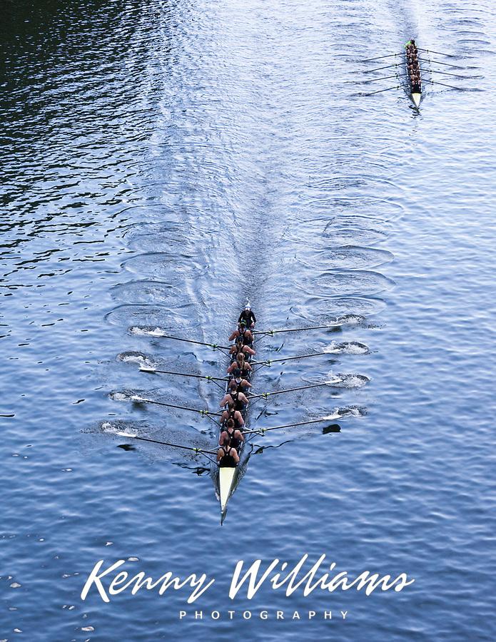 University of Washington Eight Woman Rowing Team Breaks 30-year Course Record in Time of 6:07.03 Minutes, Windermere Cup 2017, Mountlake Cut, Lake Washington, Seattle, WA, USA.