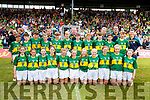 Kerry boys and Girls Primary Games Team who played Cork at Fitzgerald Stadium on Sunday.