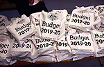 Budget 2019 file pictures inside the budget lock-up at Parliament House in Canberra, Australia, on Tuesday, April 2, 2019. Photographer: Mark Graham/Bloomberg