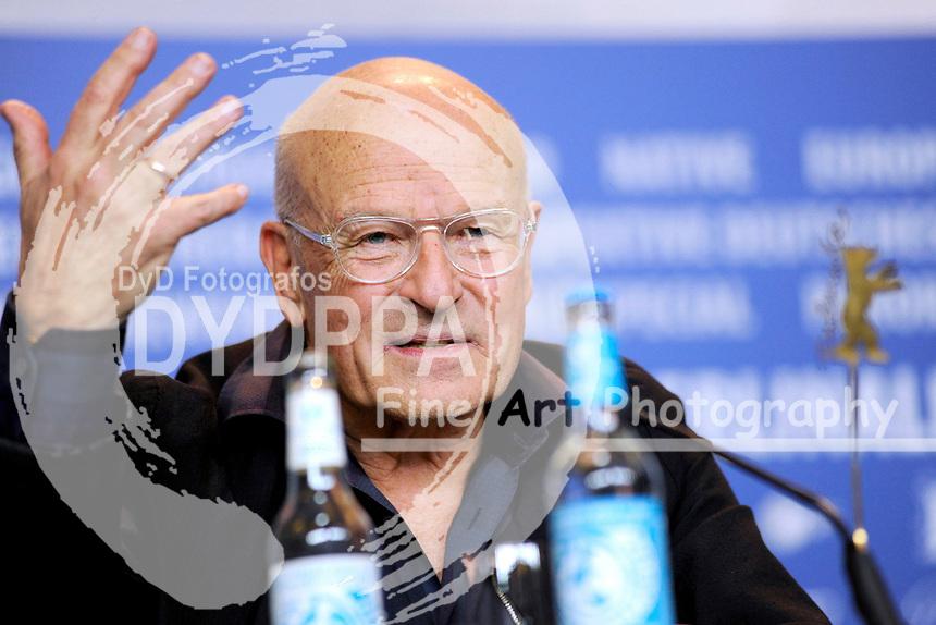 Volker Schlöndorff bei der Pressekonferenz zu 'Rückkehr nach Montauk / Return To Montauk' auf der Berlinale 2017 / 67. Internationale Filmfestspiele Berlin im Grand Hyatt Hotel. Berlin, 15.02.2017