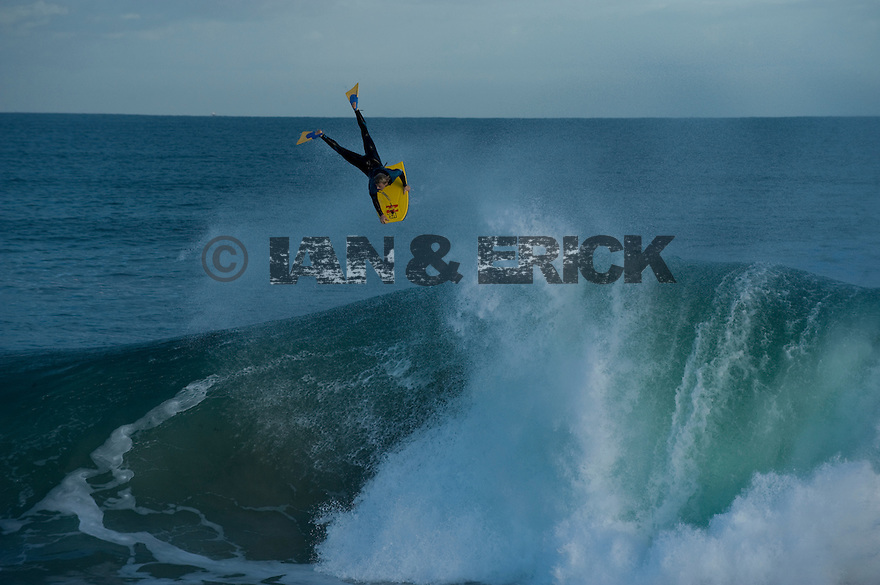 Mitch Rawlins at the Mandurah Wedge in Western Australia.