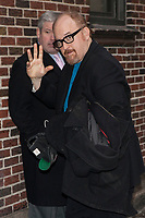 ***FILE PHOTO**  Louis C.K. Film Premiere Cancelled Amid Sexual Misconduct Allegations<br /> <br /> NEW YORK, NY - JANUARY 27: Louis C.K. visits the Late Show With David Letterman on January 27, 2014 in New York City.   <br /> CAP/MPI99<br /> &copy;MPI99/Capital Pictures