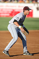 August 17 2008:  Third baseman Alex Liddi of the Wisconsin Timber Rattlers, Class-A affiliate of the Seattle Mariners, during a game at Philip B. Elfstrom Stadium in Geneva, IL.  Photo by:  Mike Janes/Four Seam Images
