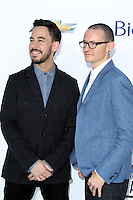 Mike Shinoda and Chester Bennington at the 2012 Billboard Music Awards held at the MGM Grand Garden Arena on May 20, 2012 in Las Vegas, Nevada. © mpi28/MediaPUnch Inc.
