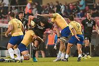 SÃO PAULO, SP, 10.11.2018 - BRASIL RUGBY-ALL BLACKS MAORI -  Jonathan Ruru, jogador do Brasil Rugby durante partida contra o All Blacks Maori em jogo amistoso no estádio do Morumbi em São Paulo, neste sábado, 10.  (Foto: Anderson Lira/Brazil Photo Press)