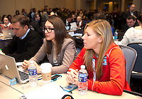 Lori Chalupny, Rory Dames. The NWSL draft was held at the Pennsylvania Convention Center in Philadelphia, PA, on January 17, 2014.
