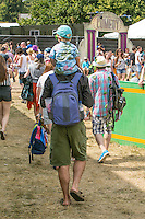 19 July 2014: atmosphere at The Latitude Festival 9th edition at Henham Park, Suffolk.
