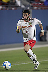 12 December 2008: Rich Costanzo (6) of Maryland.  The University of Maryland Terrapins defeated the St. John's University Red Storm 1-0 during the second sudden death overtime at Pizza Hut Park in Frisco, TX in an NCAA Division I Men's College Cup semifinal game.