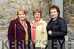 """Enjoying the performance of Students from Coláiste na Riochta, Listowel with their production  of  """"A Wake in the West"""" at St John's Theatre Listowel on Thursday were Joan O'Connell, Mary Murphy and Kathleen Nolan"""