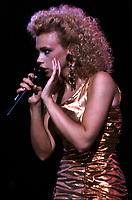EXCLUSIVE FILE PHOTO : Martine saint-Clair<br /> <br /> , circa 1985<br /> <br /> <br /> PHOTO : Harold Beaulieu<br />  - Agence Quebec Presse