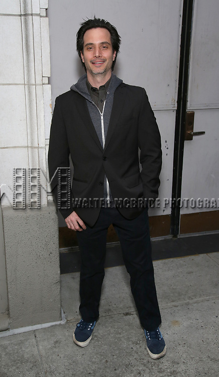 Gregg Mozgala attends the Broadway Opening Night of 'Lillian Helman's The Little Foxes' at the  Samuel J. Friedman Theatre on April 19, 2017 in New York City