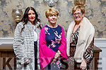 Eilish Doherty (Tralee), Trisha McAdoo (Monaghan) and Josephine Clifford (Miltown) attending the Fashion Show in aid of Kerry Hospice in the Rose Hotel on Thursday night.
