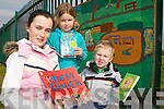 ENCOURAGING READING: Rapid Readers is a joint initiative set up by Shanakill/Rathoonane Committee with Kerry County Library to help promote and encourage reading among children and teenagers. From l-r were: Niamh OCarroll, Ali Crean and Maksymilian Kurowski..