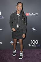 LOS ANGELES - NOV 10:  Marsai Martin at the Black-ish 100th Episode Celebration at the Walt Disney Studios on November 10, 2018 in Burbank, CA