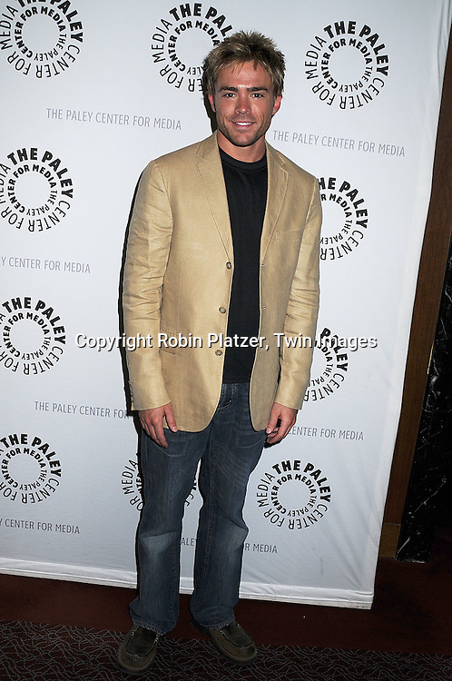 """actor John-Paul Lavoisier of One Life to Live..at The Paley Center for the 40th Anniversary of """"One Life to Live on June 10, 2008. ....Robin Platzer, Twin Images"""