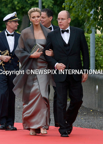 "PRINCE ALBERT OF MONACO AND CHARLENE WITTSTOCK.PRINCESS VICTORIA_PRE-WEDDING DINNER.hosted by the Swedish Government, Eric Ericsonhallen, Stockholm_18/062010.Mandatory Credit Photo: ©DIAS-NEWSPIX INTERNATIONAL..**ALL FEES PAYABLE TO: ""NEWSPIX INTERNATIONAL""**..IMMEDIATE CONFIRMATION OF USAGE REQUIRED:.Newspix International, 31 Chinnery Hill, Bishop's Stortford, ENGLAND CM23 3PS.Tel:+441279 324672  ; Fax: +441279656877.Mobile:  07775681153.e-mail: info@newspixinternational.co.uk"