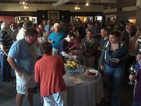 Raise The Roof Fundraiser for Brooksvale Park New Barn Construction. 14 June 2012 at DeMil's Restaurant, Hamden CT.