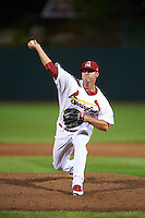 Springfield Cardinals pitcher Chris Thomas (33) delivers a pitch during a game against the Frisco RoughRiders  on June 4, 2015 at Hammons Field in Springfield, Missouri.  Frisco defeated Springfield 8-7.  (Mike Janes/Four Seam Images)