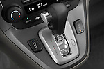 Gear shift detail view of a 2008 Honda CRV