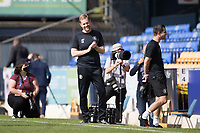 Simon Weaver, Manager, Harrogate Town,  looking forward to the historic opening league fixture for Harrogate during Southend United vs Harrogate Town, Sky Bet EFL League 2 Football at Roots Hall on 12th September 2020