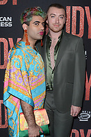 "LOS ANGELES - SEP 19:  Alok Vaid-Menon, Sam Smith at the ""Judy"" Premiere at the Samuel Goldwyn Theater on September 19, 2019 in Beverly Hills, CA"