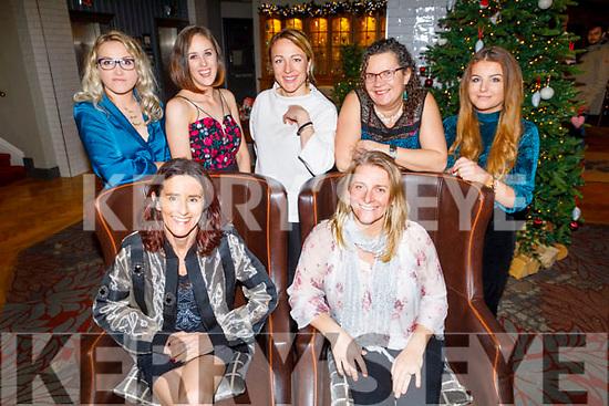 Enjoying Little Women's Christmas in the Ashe Hotel on Saturday.<br /> Seated l to r: Ailish Brosnan and Sonya Dowds.<br /> Back l to r: Santa Liberte, Sinead O'Sullivan, Ieva Breen, Tanyai Lawlor and Saoirse Brosnan.