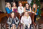 Enjoying Little Women's Christmas in the Ashe Hotel on Saturday.<br /> Seated l to r: Ailish Brosnan and Sonya Dowds.<br /> Back l to r: Santa Liberte, Sinead O'Sullivan, Ieva Breen, Tanyai Lawlor and Saoirse Brosnan.