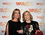 As The World Turns Elizabeth Hubbard & Martha Bryne - Weight: The Series held its premiere party on October 8, 2014 at Galway Pub, New York City, New York. (Photo by Sue Coflin/Max Photos)