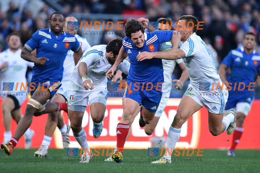 Maxime Machenaud Francia.Roma 03/02/2013, Stadio Olimpico.Rugby 6 Nations - 6 Nazioni 2013.Italia vs Francia - Italy vs France.Foto Antonietta Baldassarre / Insidefoto