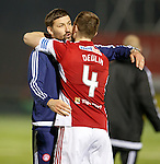 Martin Canning and Mikey Devlin