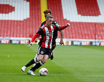 Jordan Hallam of Sheffield Utd during the Professional Development U23 match at Bramall Lane, Sheffield. Picture date 4th September 2017. Picture credit should read: John Taff/Sportimage