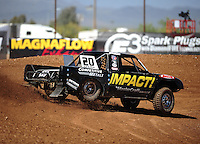 Apr 15, 2011; Surprise, AZ USA; LOORRS driver Matt Loiodice (20) during round 3 and 4 at Speedworld Off Road Park. Mandatory Credit: Mark J. Rebilas-.
