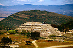 Mexico: Oaxaca..Monte Alban ruins, archaeology..Photo Copyright Lee Foster, www.fostertravel.com. .Photo #: mxhuat102, 510/549-2202, lee@fostertravel.com