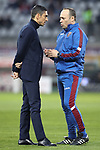 Moreno Longo Head coach of Torino FC speaks with Technical collaborator Antonino Asta during the Serie A match at Stadio Grande Torino, Turin. Picture date: 8th February 2020. Picture credit should read: Jonathan Moscrop/Sportimage