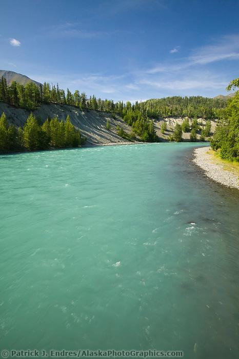 Kenai River, Kenai Peninsula, Alaska