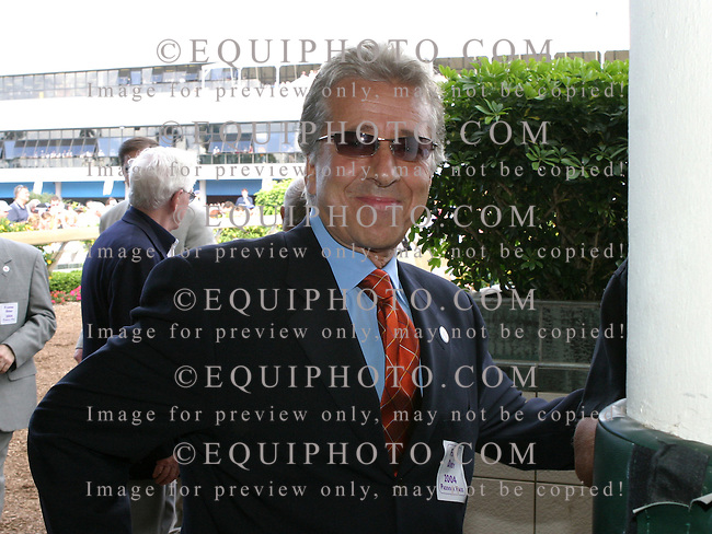 Owner Robert LaPenta at Gulfstream Park in Hallandale Beach, Florida. Photo By EQUI-PHOTO