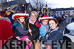 Ava O'Hanlon, Olivia Whyte with Liam and Sandra O'Hanlon, Asdee, pictured in Listowel on Sunday last.
