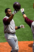 Colligan, Kyle 0453.jpg.  Big 12 Baseball game with Texas A&M Aggies at Texas Lonhorns  at UFCU Disch Falk Field on May 9th 2009 in Austin, Texas. Photo by Andrew Woolley.