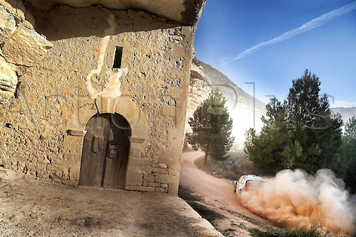 24.10.2014. Catalonia, Spain. WRC Rally of Spain.  Jari Matti Latvala (FIN)- Mikka Antilla (FIN) - Volkswagen Polo WRC