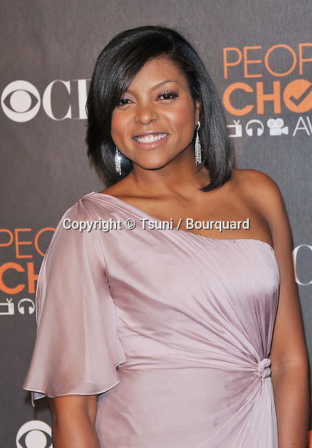 Taraji P Henson _020  -<br /> People&rsquo;s Choice Awards 2010 at the Nokia Theatre In Los Angeles.