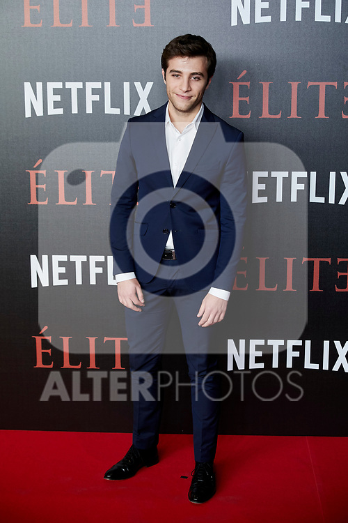 Pol Monen attends to 'Elite' premiere at Museo Reina Sofia in Madrid, Spain. October 02, 2018. (ALTERPHOTOS/A. Perez Meca)