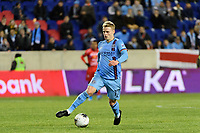 HARRISON, NJ - FEBRUARY 26: Gary Mackay-Steven #17 of NYCFC during a game between AD San Carlos and NYCFC at Red Bull on February 26, 2020 in Harrison, New Jersey.