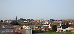 View over settlement of Vale, Guernsey