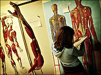 "Anatomy lesson<br /> From ""Color Blind"" series. Miami, 2007"
