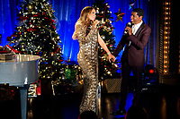 Mariah Carey's Merriest Christmas (2015)<br /> Mariah Carey &amp; Kenny Edmonds<br /> *Filmstill - Editorial Use Only*<br /> CAP/KFS<br /> Image supplied by Capital Pictures
