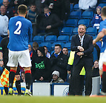 Chris Hegarty and Ally McCoist celebrating the goal Gangnam Style