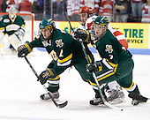 The University of Vermont Catamounts defeated the Boston University Terriers 4-3 on Saturday, November 22, 2008, at Agganis Arena in Boston, Massachusetts.