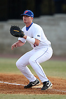 March 9, 2010:  First Baseman Austin Maddox (10) of the Florida Gators during a game at McKethan Stadium in Gainesville, FL.  Photo By Mike Janes/Four Seam Images