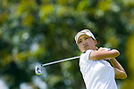 SINGAPORE - MARCH 06:  Momoko Ueda of Japan in action during the second round of HSBC Women's Champions at the Tanah Merah Country Club on March 6, 2009 in Singapore.  Photo by Victor Fraile / The Power of Sport Images